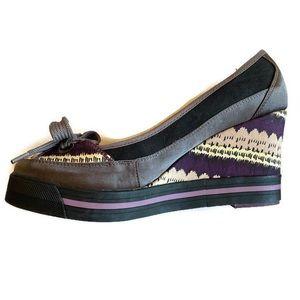 Nanette Lenore Keds Wedge shoes